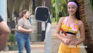 Angel Locsin, explained the cause of the sudden swelling of her body